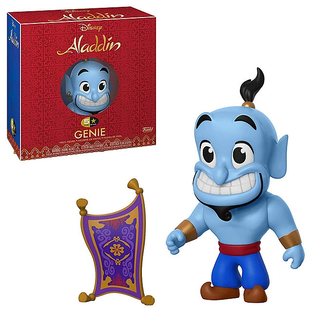 Funko 5 Star Aladdin - Genie with Magic Carpet Figure