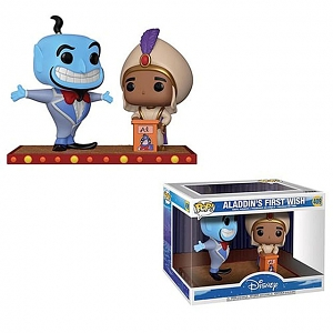 Funko POP Disney Aladdin - Aladdin Genie Movie Moment #409 Figure