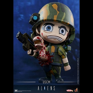 Hot Toys Aliens - USCM Cosbaby (S) Collectible