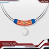 infothink AVENGERS - ENDGAME Series LED Lighting Collar (Captain Marvel)