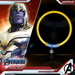infothink AVENGERS - ENDGAME Series LED Lighting Collar (Thanos)