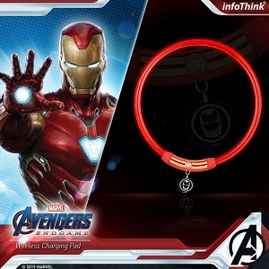 infothink AVENGERS - ENDGAME Series LED Lighting Collar (Iron Man)