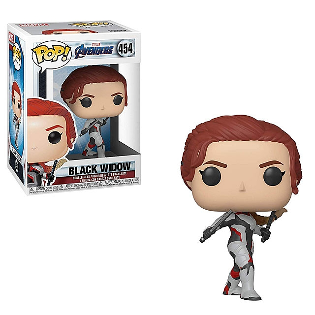 Funko POP Marvel Avengers Endgame - Black Widow #454 Action Figure