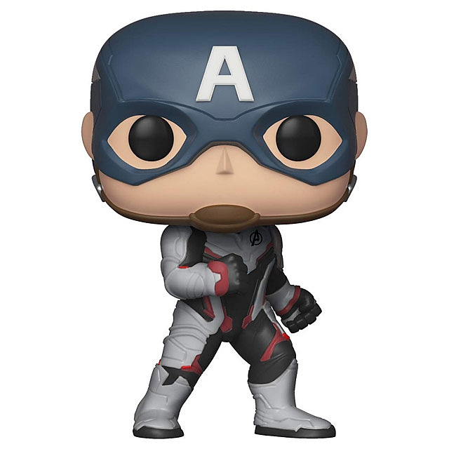 Funko POP Marvel Avengers Endgame - Captain Amercia Multicolor #450 Action Figure