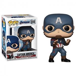Funko POP Marvel Avengers Endgame - Captain America (EXCLUSIVE) #450 Action Figure