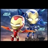 Hot Toys Avengers Endgame - Iron Man Mark LXXXV & Rescue Cosbaby (S) Bobble-Head