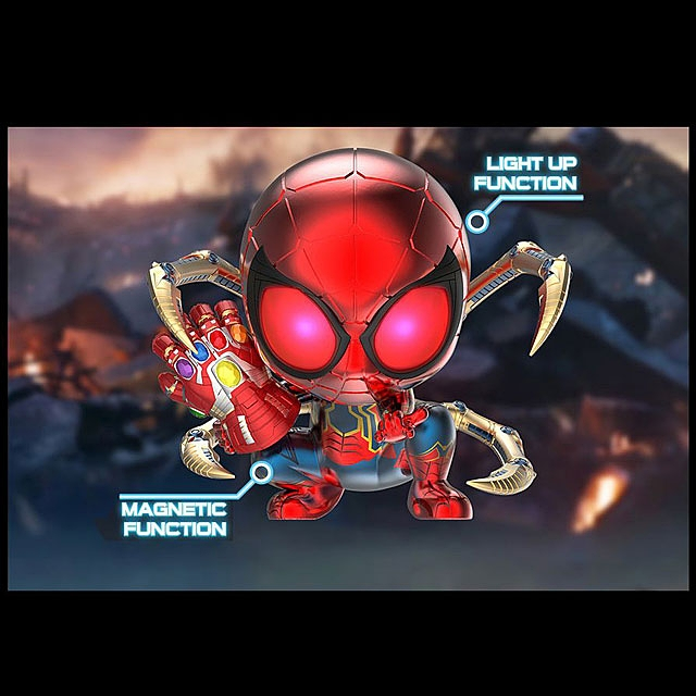 Hot Toys Avengers Endgame - Iron Spider Instant Kill Mode Version Cosbaby (S) Bobble-Head