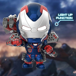 Hot Toys Avengers Endgame - Iron Patriot Cosbaby (S) Bobble-Head