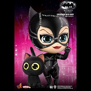 Hot Toys Batman Returns - Catwoman with Whip Cosbaby (S) Bobble-Head