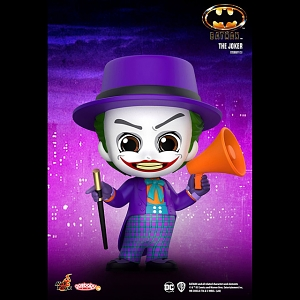 Hot Toys Batman (1989) - The Joker Cosbaby (S) Bobble-Head