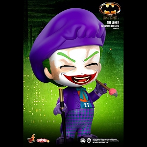 Hot Toys Batman (1989) - The Joker Laughing Version Cosbaby (S) Bobble-Head