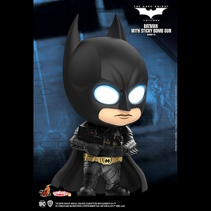 Hot Toys Batman The Dark Knight - Batman with Sticky Bomb Gun Cosbaby (S) Bobble-Head