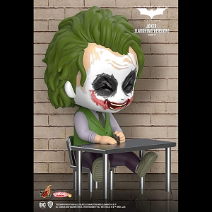 Hot Toys Batman The Dark Knight - Joker (Laughing Version) Cosbaby (S) Bobble-Head
