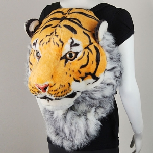 3D Tiger Head Backpack Bag