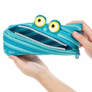 Zipit Wildling Monster Purse - Blue 2018