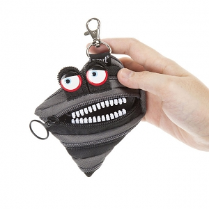 Zipit Wildling Monster Coin Purse - Black