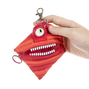 Zipit Wildling Monster Coin Purse - Red