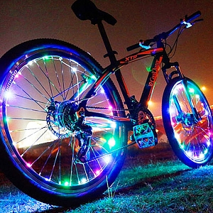 Cycling Bike 20-LED Wheel Light