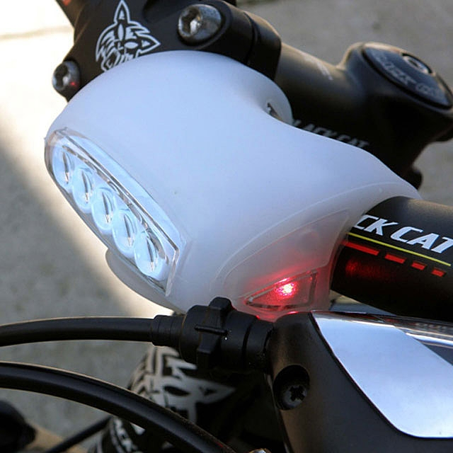 Flexible 7-LED Rear and Side Bike Light