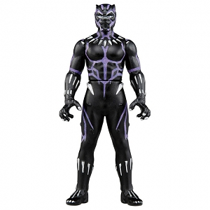 Takara Tomy Tomica Metal Figure Collection - Marvel Black Panther (Light up Suit Ver.)