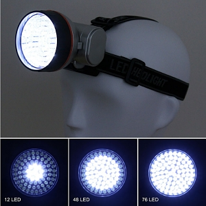 72-LED Headlight