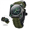 4-in-1 Survival Multi-functional Watch