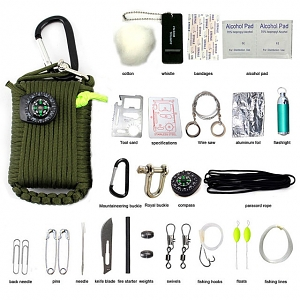 29-in-1 Outdoor Survival Emergency Kits