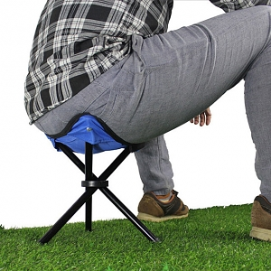 Mini Portable Outdoor Folding Tripod Chair