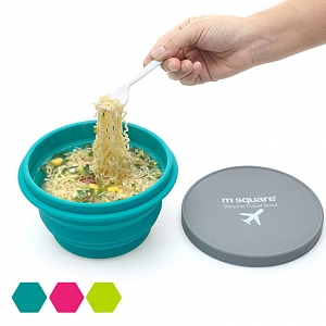 Portable Folding Silicone Bowl