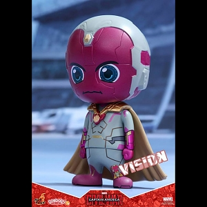 Hot Toys Captain America 3 Civil War - Vision Cosbaby Bobble-Head