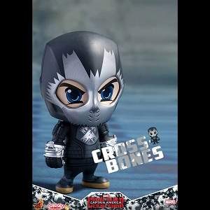 Hot Toys Captain America 3 Civil War - Cross-Bones Cosbaby Bobble-Head