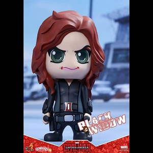 Hot Toys Captain America 3 Civil War - Black Widow Cosbaby Bobble-Head