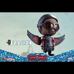 Hot Toys Captain America 3 Civil War - Falcon Cosbaby Bobble-Head