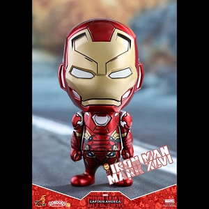 Hot Toys Captain America 3 Civil War - Iron Man Mark XLVI Cosbaby Bobble-Head