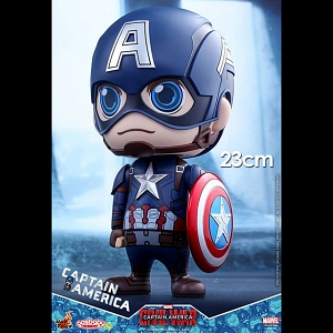 Hot Toys Captain America Cosbaby (L) Bobble-Head