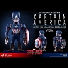 Hot Toys Captain America Artist Mix Bobble-Head Figure