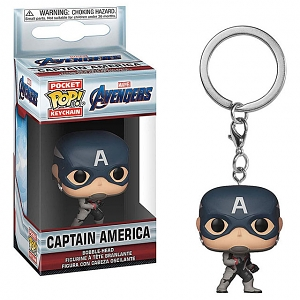 Funko POP Captain America Keychain