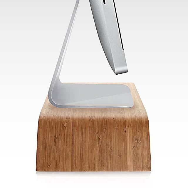 Wood Monitor Stand