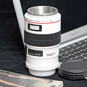 Lens EF 100mm F/2.8L IS USM Metallic Mug