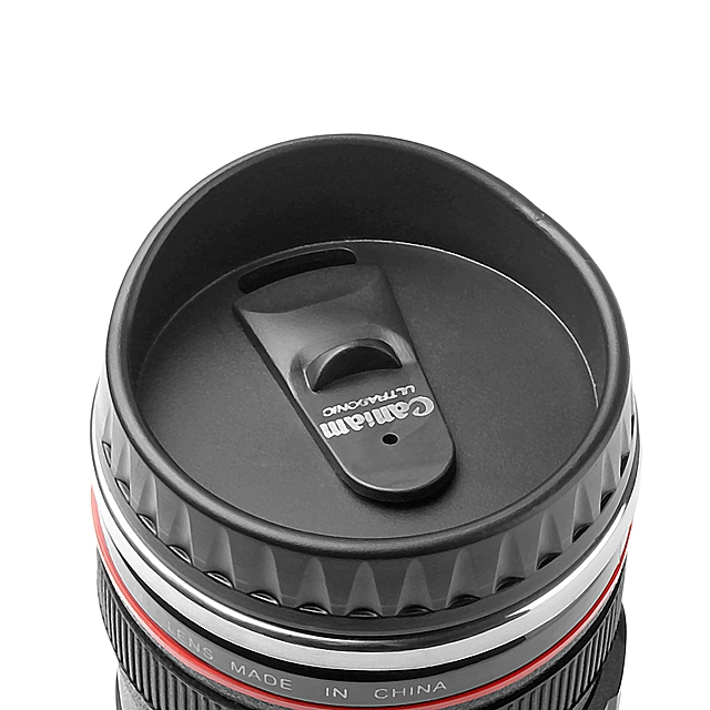 Lens EF 24-105mm f/4L USM Metallic Mug with Drinking Lid