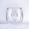 Mickey 90 Anniversary Double-Layer Glass Cup