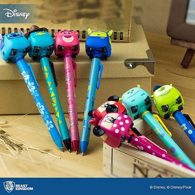 Beast Kingdom Disney Mickey Pen with Pull-Back Car