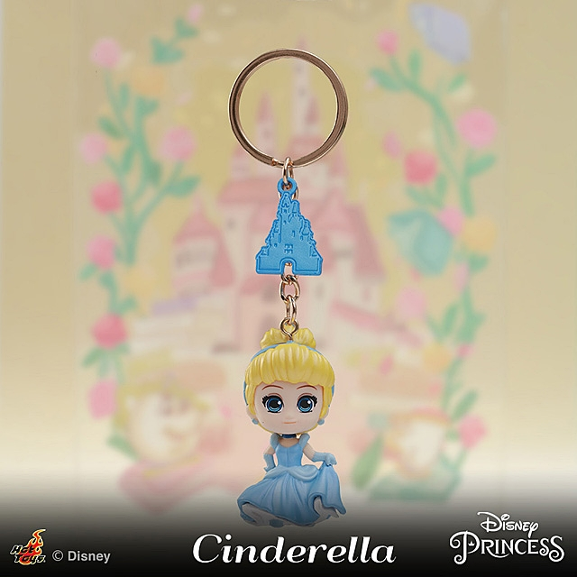Hot Toys Disney Princess Series Cosbaby (S) Keychain