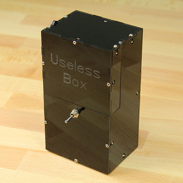 how to build the useless box