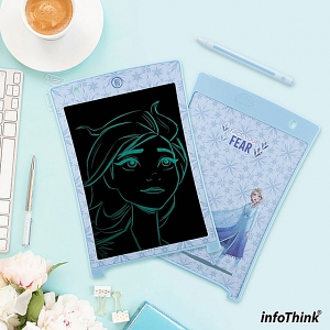 infoThink Frozen II Series Electronic Paint Board - Elsa