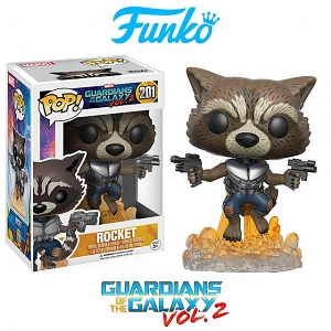 Funko POP Guardian of the Galaxy Vol. 2 - Flying Rocket Action Figure