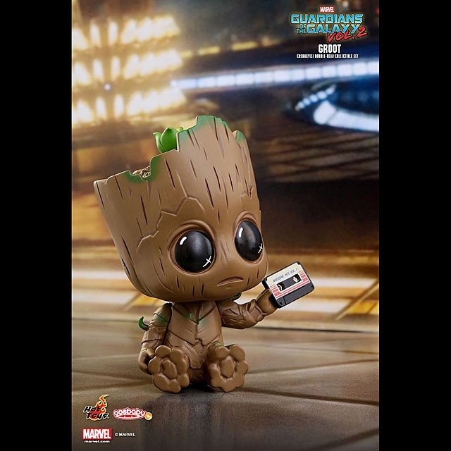 Hot Toys Guardians of the Galaxy Vol. 2 - Groot Cosbaby Bobble-Head