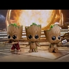 Hot Toys Guardians of the Galaxy Vol. 2 - Groot Cosbaby Bobble-Head Collectible Set
