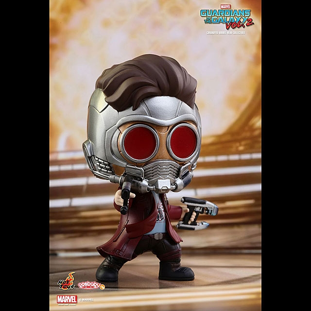 Hot Toys Guardians of the Galaxy Vol. 2 - Cosbaby Bobble-Head Collectible 5pcs Set