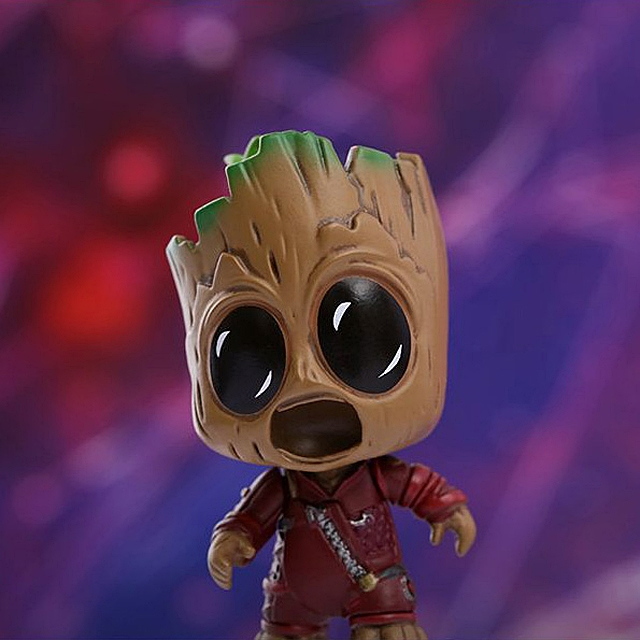 Hot Toys Guardians of the Galaxy Vol. 2 - Space Traveling Version Cosbaby Bobble-Head Collectible Set